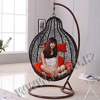 Подвесное кресло плетеное