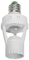 Датчик движения ДД 045 белый E27 60Вт 360гр 6м IP20 IEK