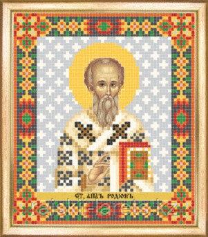СБИ-100 Схема для вышивания бисером Икона Святой апостол Родион