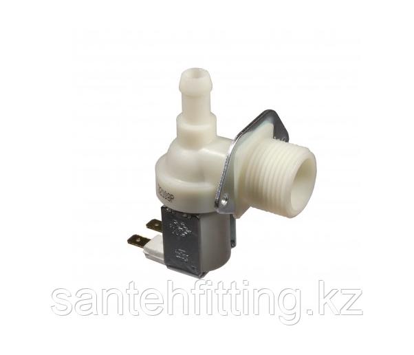 Клапан электромагнитный 1w-90 градусов, универсальный для стиральной машины