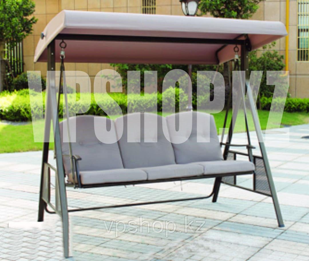Люкс садовые качели-диван, 3-х местные, доставка