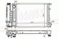 NISSENS Радиатор, охлаждение двигателя BMW 3 E30/E36, 5 E34 1.8-2.5 60735A