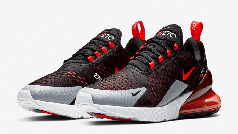 Кроссовки Nike Air Max 270 Black Crimson