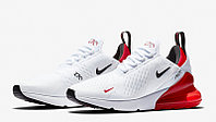 Кроссовки Nike Air Max 270 White Red, фото 1