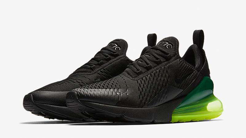 Кроссовки Nike Air Max 270 Black Volt
