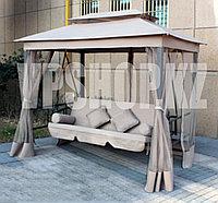 Садовые качели-диван люкс, 3-х местная, доставка
