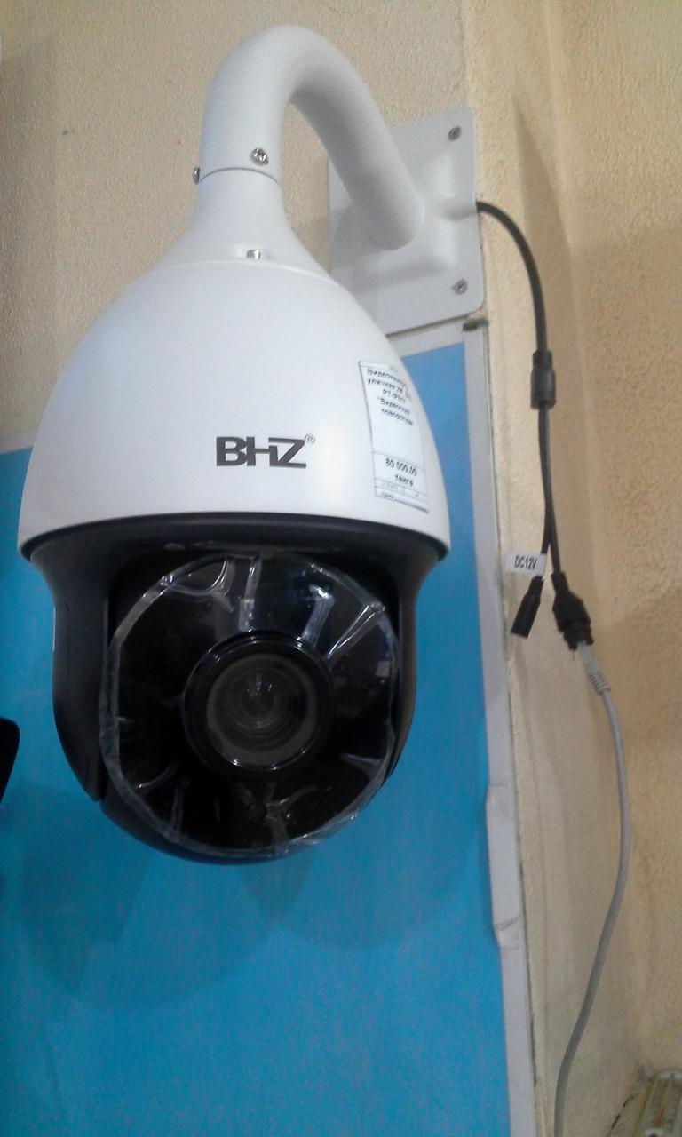"""Видеокамера IP уличная 2M    BHZ PT-IP617  """"Видеоглаз""""  поворотная"""