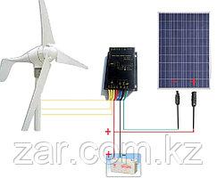 Ветро-Солнечная Электростанция (Комплект-Киловатник)