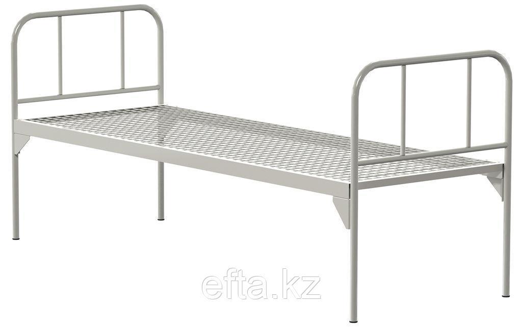 Кровать общебольничная с единым ложем  без колес