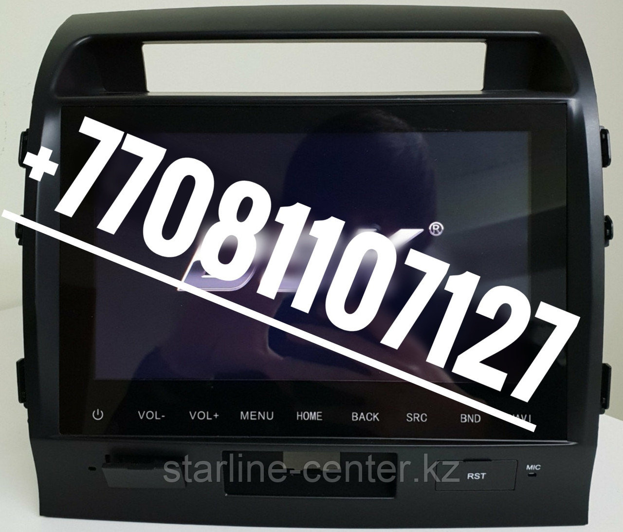 Автомагнитола DSK Toyota Land Cruiser 200 2007-2015 IPS ANDROID 8
