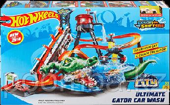 Hot Wheels(Хот Вилс) Невобразимая мойка Gator Car Wash