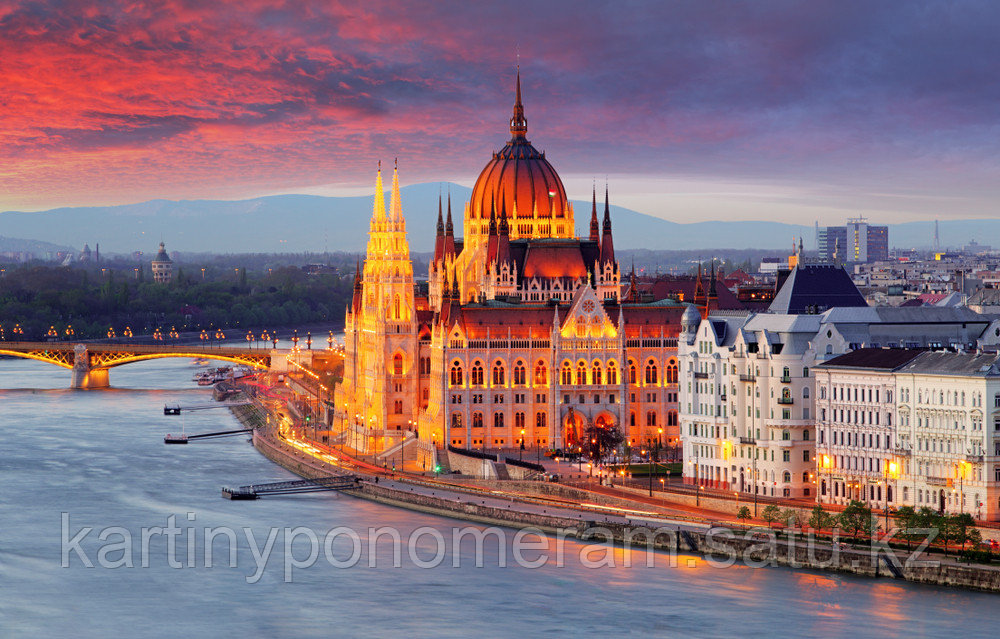"Картины по номерам ""Будапешт. Венгрия"""