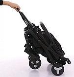 Прогулочная коляска Mstar (Baby Grace) Серый/бирюза, фото 6