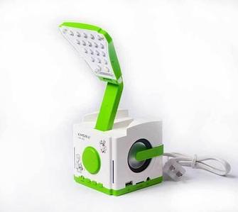 Лампа настольная с аккумулятором и функциями MP3-плеера KMS KM-602