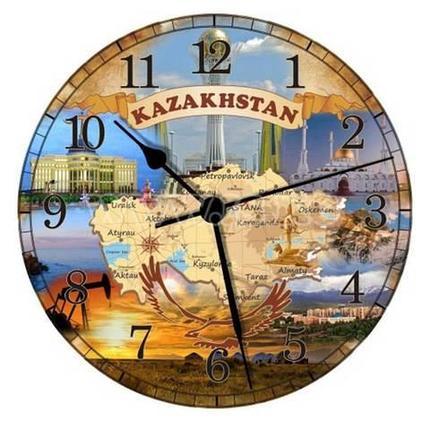 Часы настенные «Карта Казахстана», фото 2