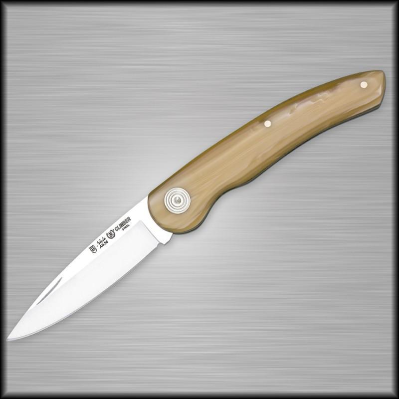 Нож складной Miguel Nieto Climber 406, Общая длина: 175 мм, Длина клинка: 75 мм, Материал клинка: Сталь AN-58,