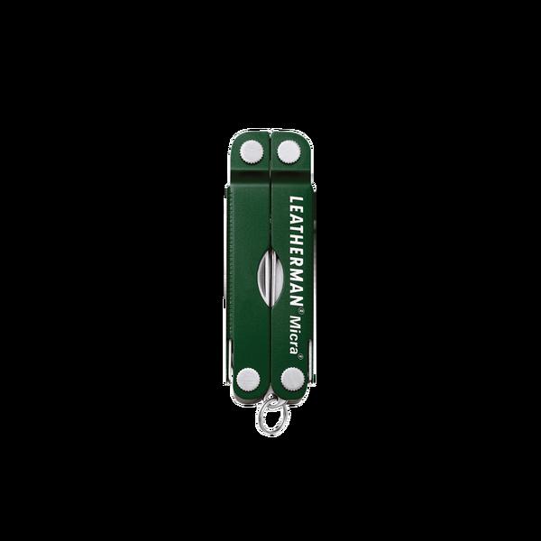 Мультитул брелок Leatherman Micra, Кол-во функций: 10 в 1, Цвет: Зелёный, (MICRA)