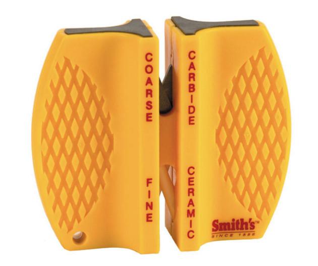 Точило для ножей Smith`s Two-Step Pocet, Цвет: Жёлтый, Упаковка: Розничная, (CCKS 2-Step)