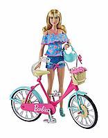 Игровой набор Велосипед для куклы Барби, фото 1