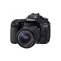 Фотоаппараты Canon Canon EOS 80D Kit 18-55mm IS STM