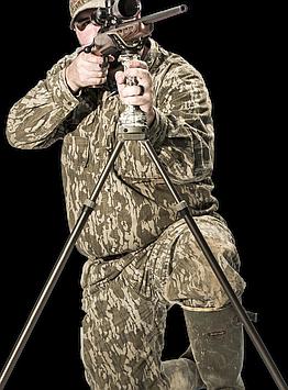 Штатив бипод для оружия Primos Trigger stick GEN3 Tall Bipod, Высота: 610 - 1550 мм, Да, камера/оптический при