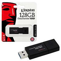 USB флешки Kingston Kingston DT100G3/128GB черный