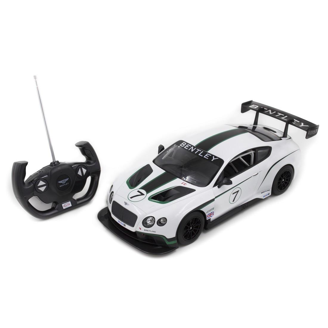 Радиоуправляемая модель автомобиль Rastar Bentley Continental GT3, 1:14, Управление: Джойстик, Материал: Пласт