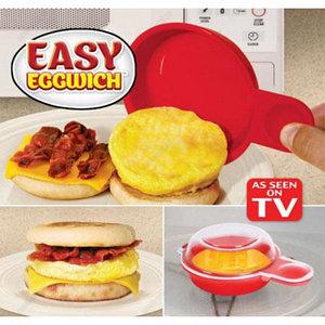 Форма для приготовления яиц в микроволновке Easy Eggwich [2 шт.]
