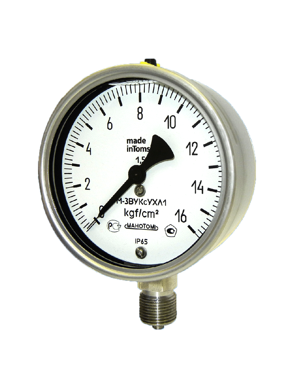 Манометры, вакуумметры, мановакуумметры М-3ВУКс, В-3ВУКс, МВ-3ВУКс