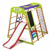 Детский спортивный комплекс для квартиры «Карамелька Plus 3»
