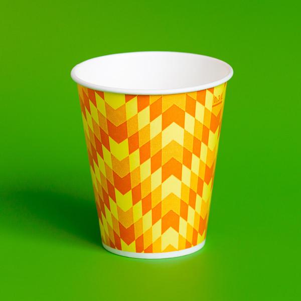 """Бумажный стакан """"Зиг-заг"""" 300мл"""