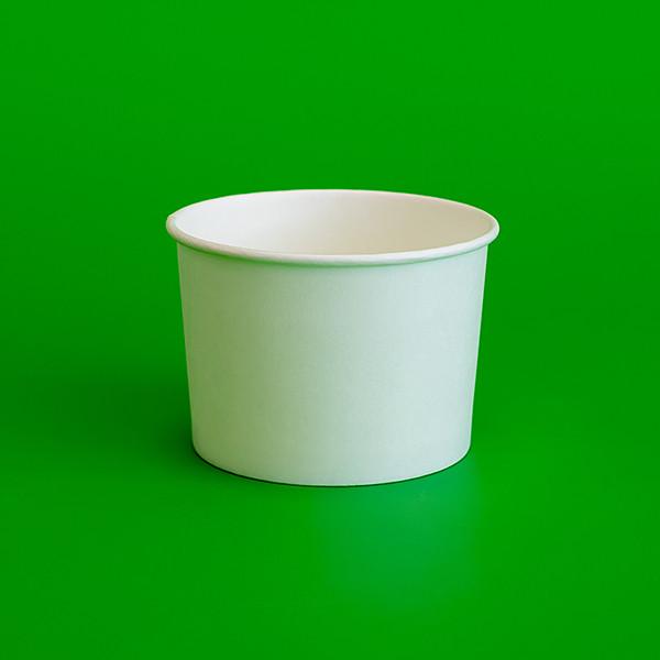 Бумажная креманка белая 250мл