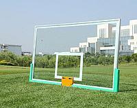 Щит баскетбольный 1800*1030 мм из оргстекла с кольцом, фото 1