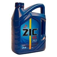 Моторное масло ZIC Х5 10w40 6литров