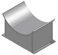 ОСТ 34-10-610-93 Опоры неподвижные для вертикальных коробов