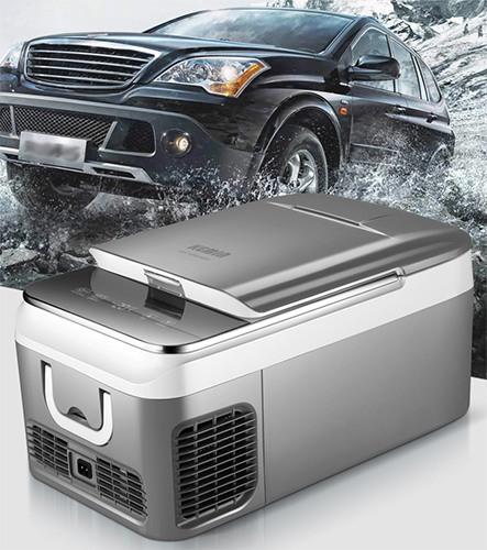 """Автохолодильник """"Kemin 26 л"""" — отличный вариант для охлаждения продуктов и напитков во время поездок и путешествий"""