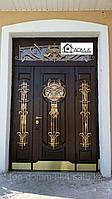 """Входная дверь с ковкой """"Элегант"""""""