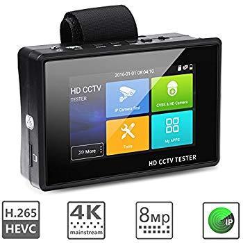 Видео тестер (сервисный монитор)  IP камер AVT IPTEST 04 PLUS