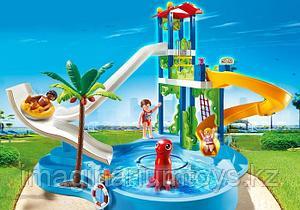 Playmobil констурктор для детей «Аквапарк. Башня с горками»