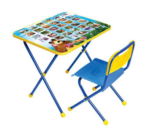 Комплект детской мебели [стол+стул] НИКА (Маша и Медведь)