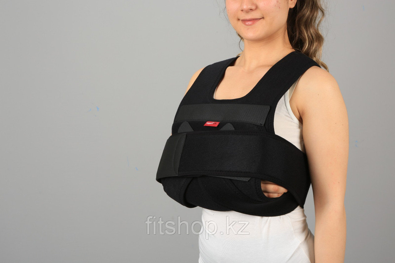 Бандаж поддерживающий при травмах плечевого сустава( повязка Дезо)