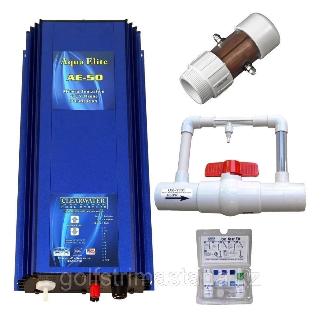 Комбинированная установка Clear Water Aqua Elite 50 с коллектором Venturi  (УФ лампа PHILIPS TWIN-ULTRA)