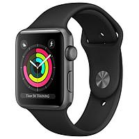 Умные часы и браслеты Apple Apple Watch 3 38mm Aluminum Case with Sport Band Space Grey MR352