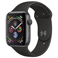 Умные часы и браслеты Apple Apple Watch Series 4 40mm Space Gray Aluminum Case with Black Sport Band MU662