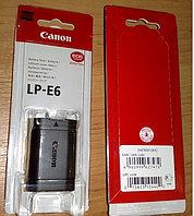 Аккумуляторы (дубликат)LP-E6 на Canon EOS EOS 5D/Mark II/5D/Mark III/60D/60Da/7D, фото 1