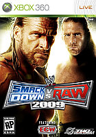 WWE Smack Down vs. Raw 2009 (Fighting)