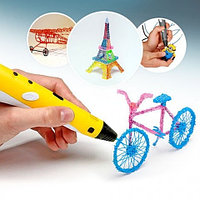 3D ручка с OLED-дисплеем 3D pen-2 «MYRiWELL» RP-100B (Желтый)