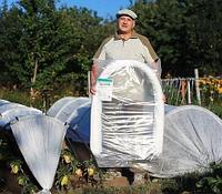 Парник - теплица «Подснежник/Вырастайка» [от 3 до 8 метров] с укрывным материалом спанбонд (3 метра)