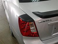 Реснички на задние фонари Daewoo Gentra , фото 1