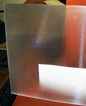Поликарбонат 2 мм Призма 588х588 мм для светильников